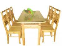 Bộ bàn ăn B48+G48