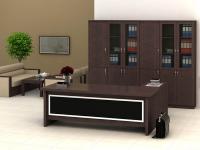 Bộ bàn và tủ giám đốc